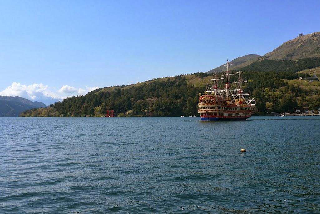 hakone bateau lac ashi