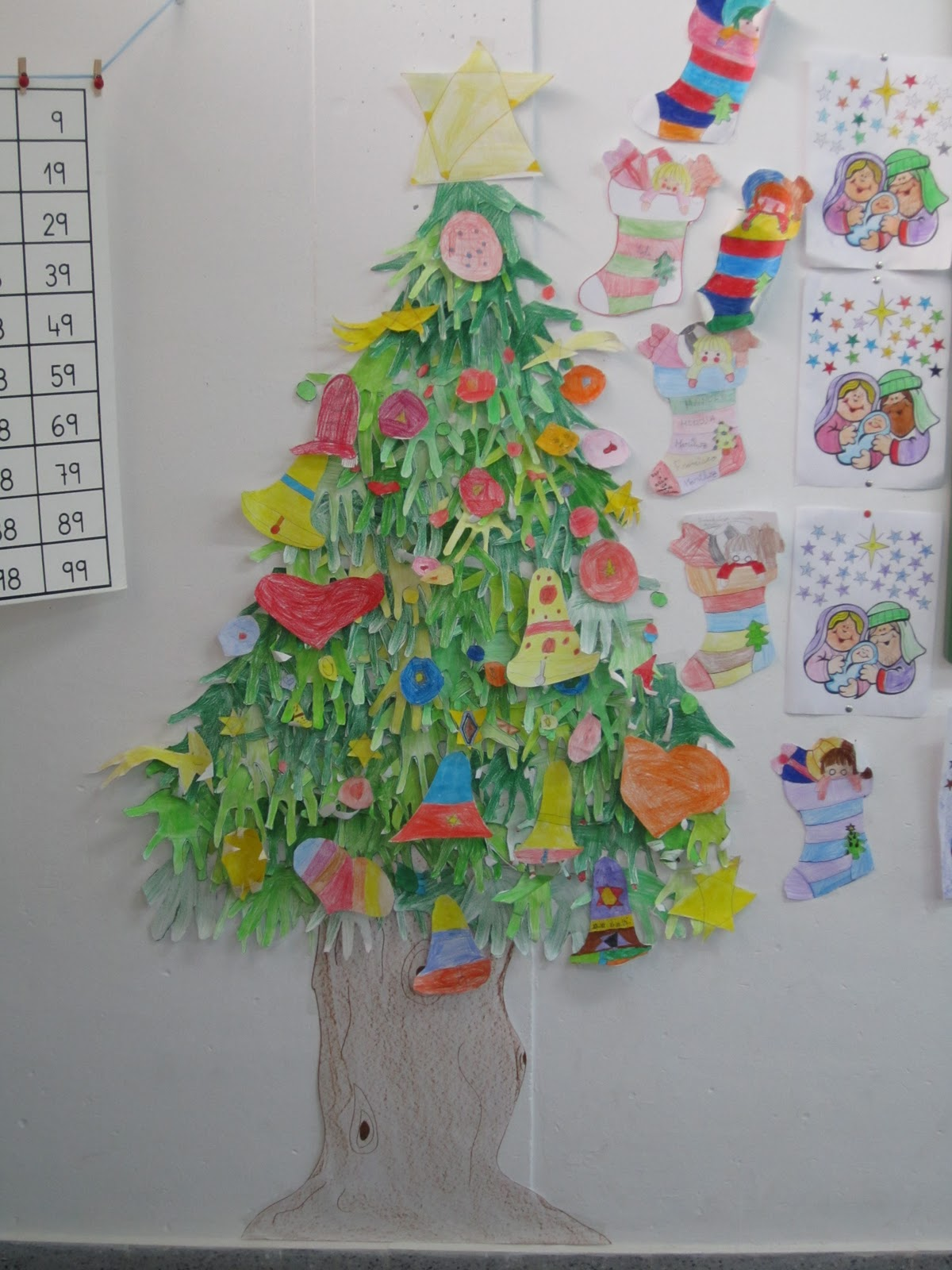 Salon de clases decorado de navidad for Ideas para decorar puertas de salon