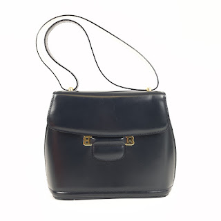 Bally Navy Handbag