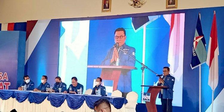 Kongres Ditutup, Teriakan 'Moeldoko Presiden 2024' Menggema di KLB Sibolangit