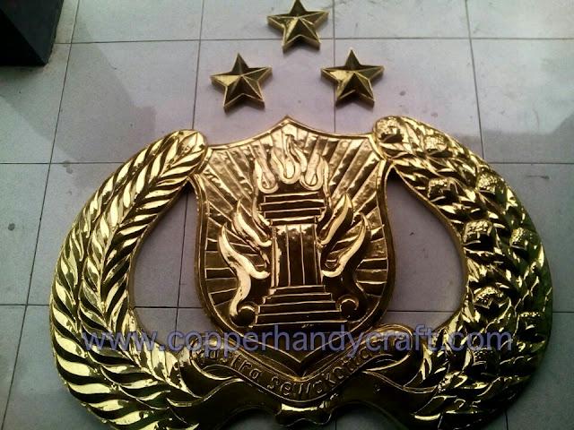 Logo Polri Kuningan coco art