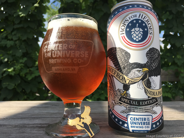 Center Of The Universe Homefront IPA Coming 6/2