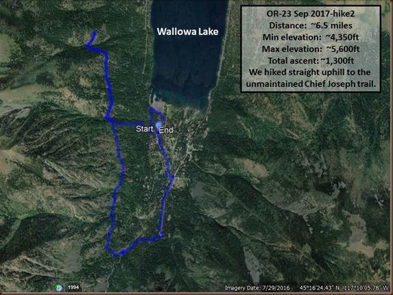 Wallowa Lake-23 Sep 2017-hike2