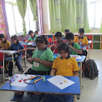 Bouquet Making Competition (Primary) 07.09.2016