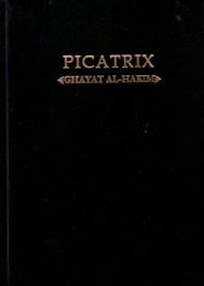 Cover of Hellmut Ritter's Book Picatrix In German