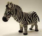 3D Zebra by Abby