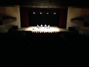 At the Teatro Bradesco / Rio do Janeiro