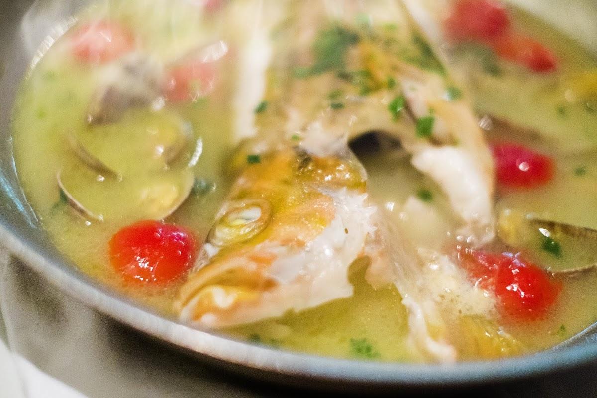 鯛とレンコンの和風アクアパッツァ(ノンストップで笠原将弘が紹介)のレシピ