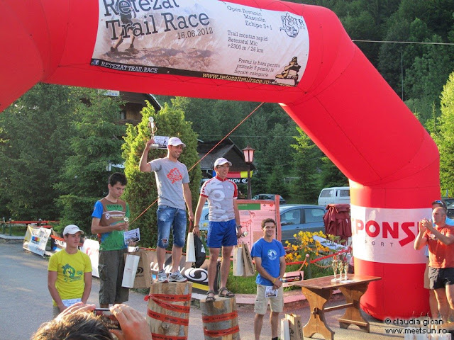 Retezat Trail Race - podium baieti