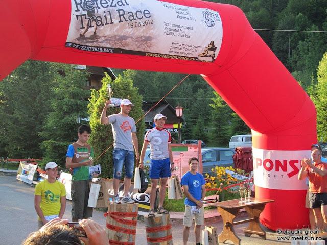 Retezat Trail Race - podium baieti