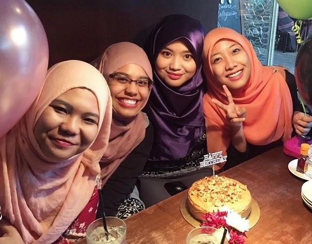 Kejutan Hari Jadi Syafiqah Hashim