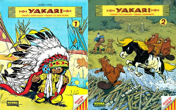 Yakari [Vols. 1 y 2][C�mic][Catal�n]
