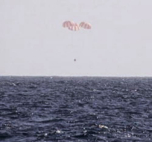 Dragon Returns In Successful Splashdown