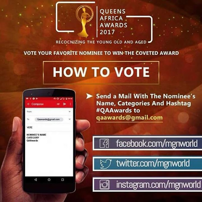 """Queen of Emerald Nigeria pageant Boss  have been nominated for another award at the QUEENS AFRICA AWARD 2017 as """"PAGEANT PRODUCER OF THE YEAR 2017"""" ...let's bring it back ..!!!"""