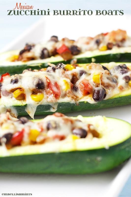 Zucchini-Burrito-Boats