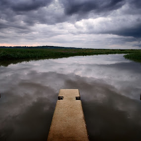 cley next the sea by Joe Lawrence - Landscapes Cloud Formations
