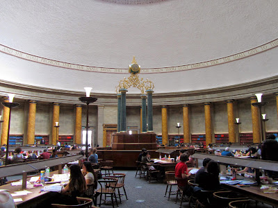 Manchester Central Library reading room