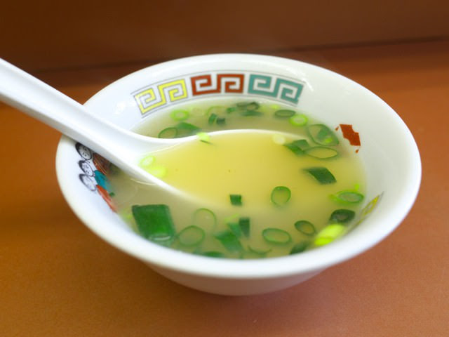 付属のスープ