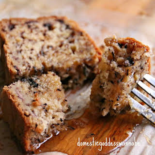 Buttermilk Banana Bread with Chia Seeds.