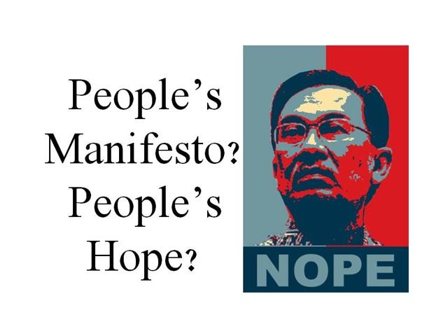 Pakatan Haram Lancarkan Manifesto PRU13 #ManifestoPRBukanJanji #1Malaysia #TolakPR
