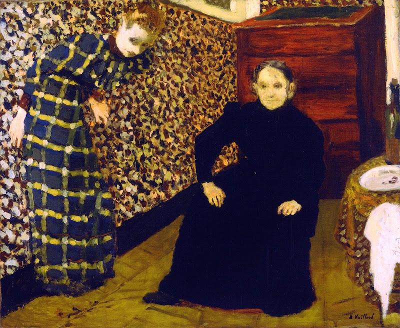 Édouard Vuillard - Interior, Mother and Sister of the Artist