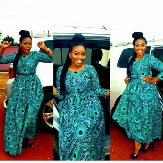 ANKARA LONG GOWN STYLES IN NIGERIA 2017 - Styles Art