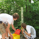Carmel Boy Scouts Tim Williams Eagle Project 2012
