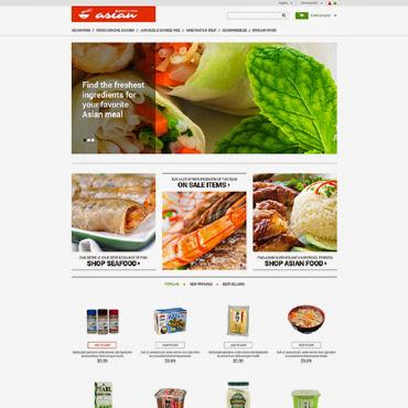 Asian Grocery PrestaShop #50523
