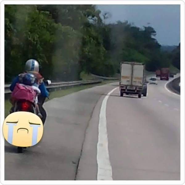 wanita naik motor dari penang ke kajang.jpg