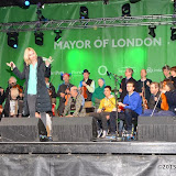 OIC - ENTSIMAGES.COM - Mulkere Academy of Music  at St Patrick's Day Parade and Festival 2015 in London Photo Mobis Photos/OIC 0203 174 1069