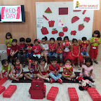Red Day Celebration By Nursery Section at Witty World Bangur Nagar (2018-2019)