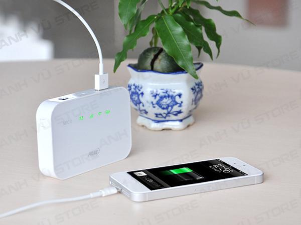 HAME A19 - Bộ Phát WiFi 3G - WiFi Di Động - Pin Sạc Dự Phòng - Router Wifi 3G Hame A19 03