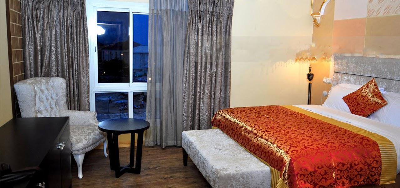 Sandralia Hotel Abuja room