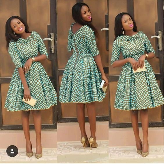 Latest African Short Gown Trends 2020 2