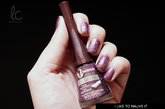 Esmalte da Semana: I Like to Mauve It