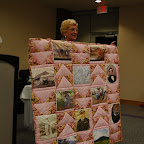 Quilt made and donated to Helene Gleaves Miller.  First Treasurer .