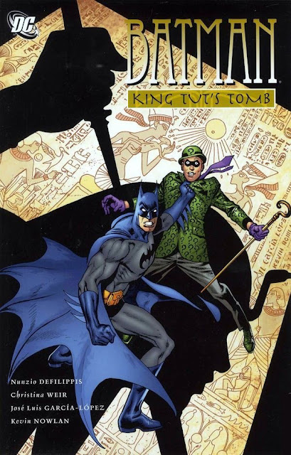 Batman: King Tut's Tomb cover