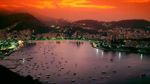 Sunset Over Rio de Janeiro, Brazil.jpg