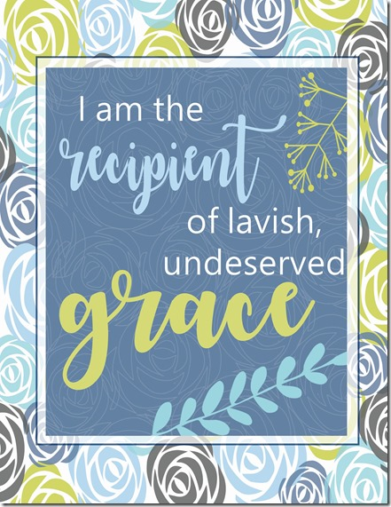 Lavish Undeserved Grace