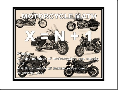Motorcycle math