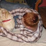 Wieczorne zabawy z tatą (01.12.2009)