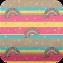 rainbow wallpaper icon