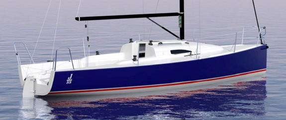J/88 family speedster- fast sailboat