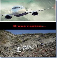 trajédia de avião
