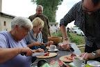 Príprava gulášu - teamová práca