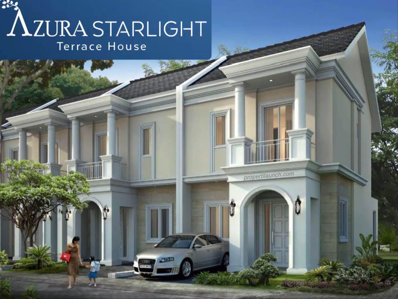 Azura Starlight Terrace House BSD