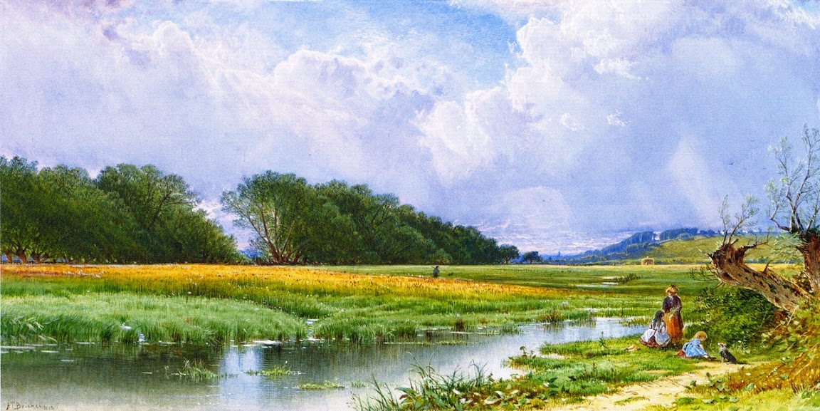 Alfred Thompson Bricher - On the Meadows of Old Newburyport