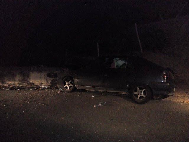 Bombeiros Voluntários de Lamego - Acidente faz um ferido na Penajóia