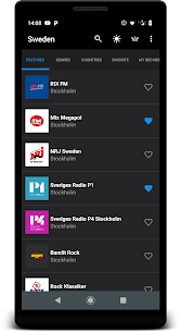 Radio Sweden 1.4 Android Mod + APK + Data 3