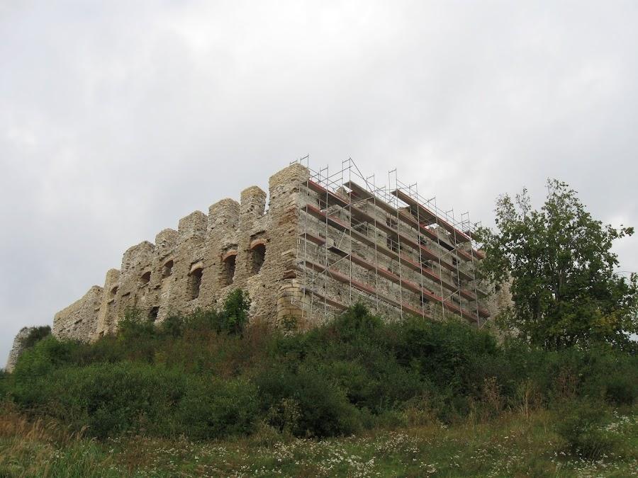 Zamek Rabsztyn - prace renowacyjne